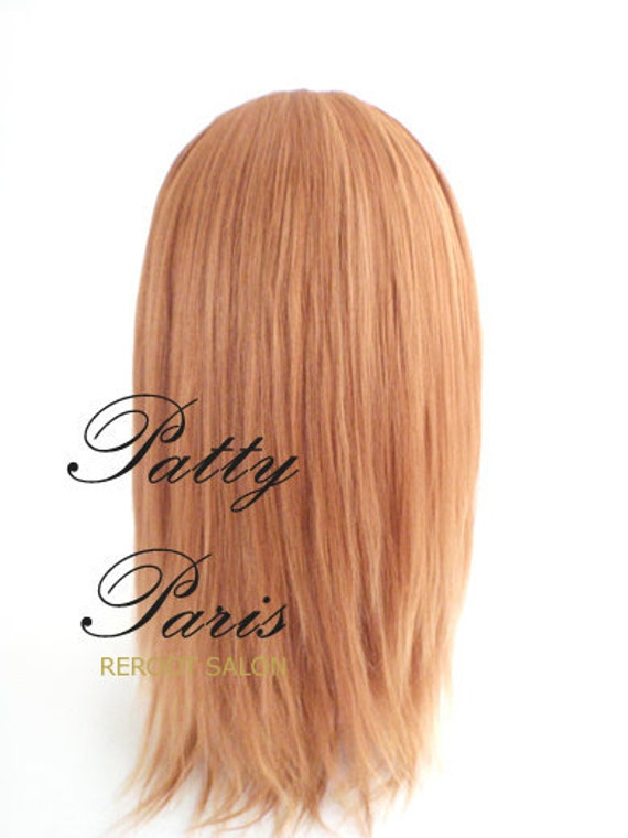 Gorgeous Finished the reroot for Blythe Doll  Pretty& lovely Dark Blonde Natural Highlight with Alpaca hair 11- 12 inches long