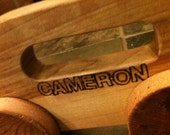 Custom Block Lettering on any item from my shop