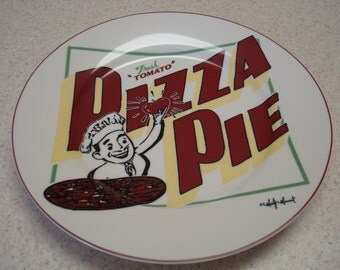 Marty Mummert Pizza Pie Plate