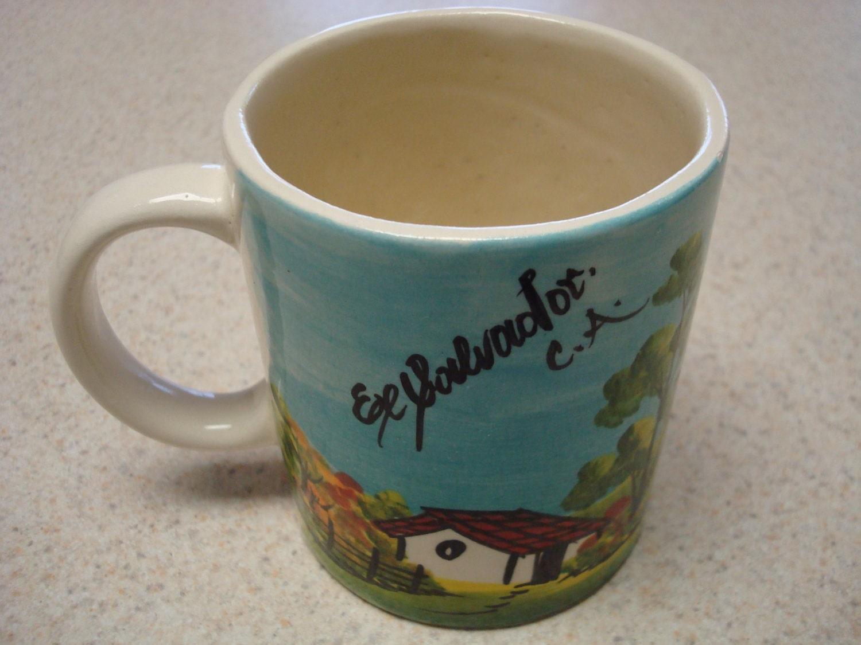 El Salvador C A Cockroach Prank Coffee Cup