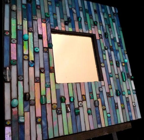 oceanic dreams mosaic mirror