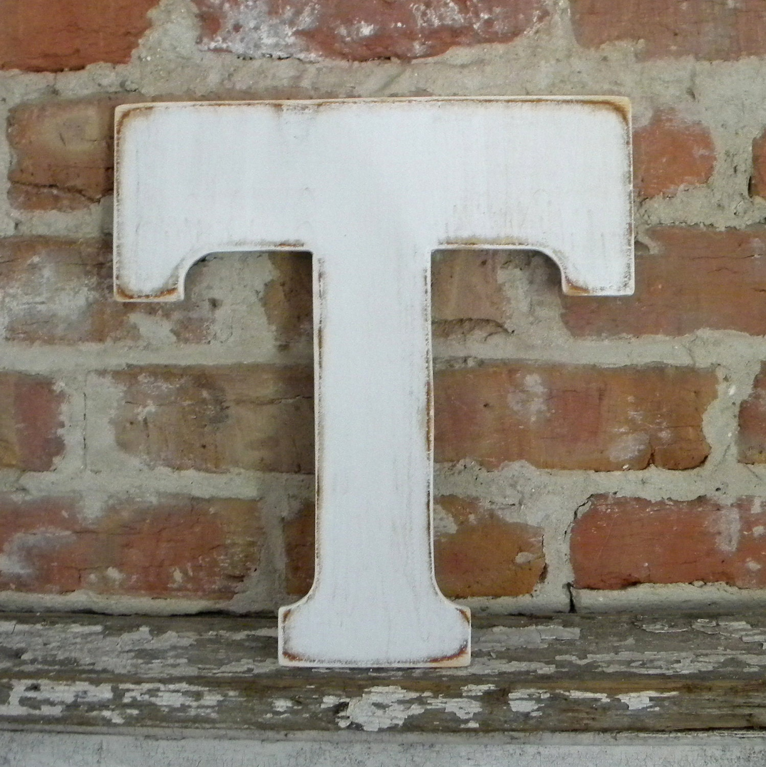 distressed wood letters 12 wooden letter t distressed white classic font all 21380 | il fullxfull.329630525