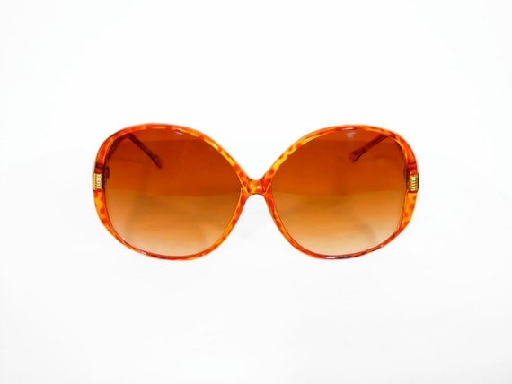 Large 70s Round Sunglasses by Foster Grant