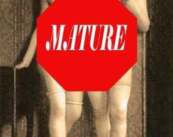 Women in Lust Refrigerator Magnet - MATURE