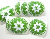 Floral Stickers,wedding envelope seals, favor stickers, packaging