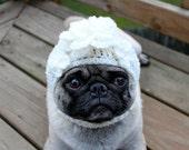 Dog Bride Hat/ Made to Order