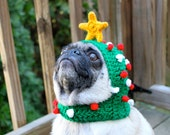 "Dog Hat - ""Oh Christmas Tree"" / Made to Order"
