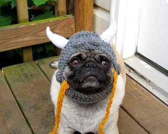 Dog Hat - Viking Warrior Hat/As seen in Moderndog Magazine