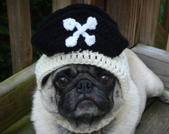 Pirate Treasures  Dog Hat / Made to Order