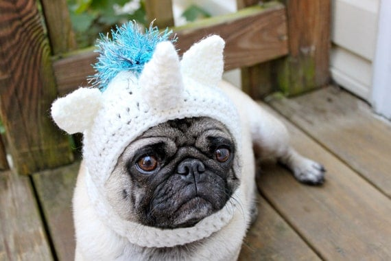 Magical Unicorn Dog Hat / Made to Order