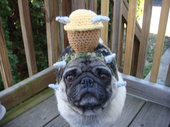 Dog Hat - Stud Muffin Hat / Made To Order