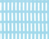 """1 Yard """"A Walk In The Woods"""" - Dash Stripe Blue Bell - by Aneela Hoey for Moda"""