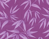 """1 Yard """"Good Fortune"""" - Lucky Bamboo Harmony Purple - by Kate Spain for Moda"""