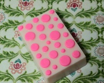 Polka Dot Soap, Carnation Scent