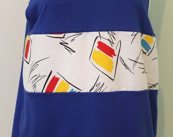 Blue Le Tigre summer tank top
