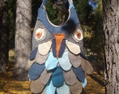 Woodland Owl purse