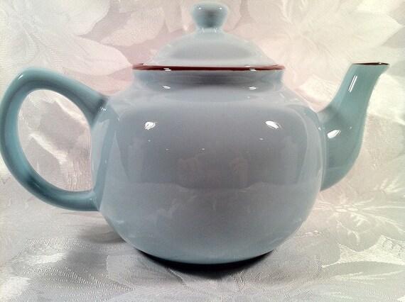 Blue Skies TeaPot