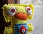 Hammerhead Dolls - Alexas , Plush Toy, Handmade, Unique Gift, Easter