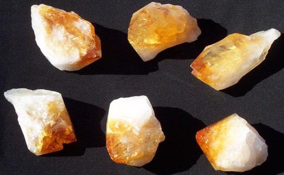 Citrine Crystal Point Power Healer