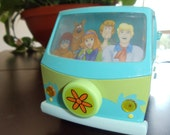 Vintage Scooby Doo Mystery Machine Van Digital Alarm Clock & Night Light - Free Shipping