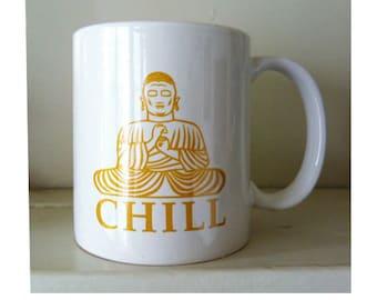 CHILL Ceramic Chai Mug
