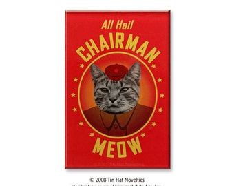 Chairman Meow Magnet