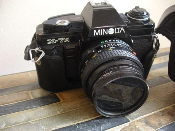 Minolta X-74 35MM Camera