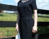 Late 80's Vintage Kasper A.S.L. Dress Size 8, 8-10