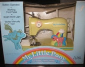 1987 My Little Pony Sewing Machine