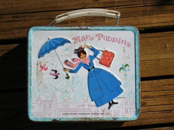 Mary Poppins Lunch Box