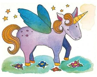 PRINT - The (Second to) Last Unicorn