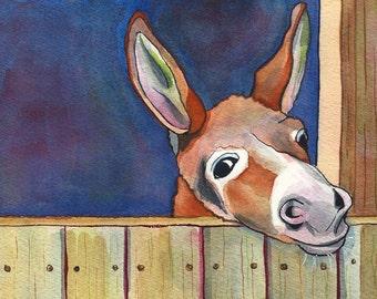 PRINT - Donkey