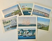 Notecards, Maritime themed from original oil paintings capturing Maine coastal scenery