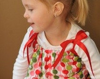 Noel Christmas Pillow Case Dress. Available in Sizes 0Months-8Years Old.