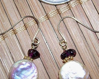 Girly Pearly Earrings