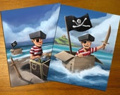 11x14 - A Pirate's Combo - Prints