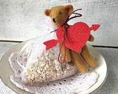 Spicy Cinnamon Vanilla - Scented Sachet, So cute For Valentine's Day