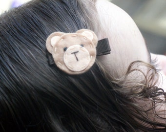 Adorable Bear Hair Clip - Meet Miss Bailee