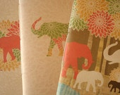 Handmade Journal Set of 3- ELEPHANT designs