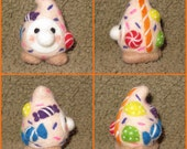 Needle felted gnome - Candy - RESERVED for Megan