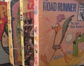 "The Road Runner - ""The Lost Road Runner Mine"" 1974 Big Little Books"