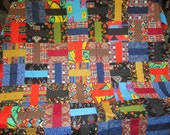 Vintage Quilt Top For Full Or Queen Size Bed