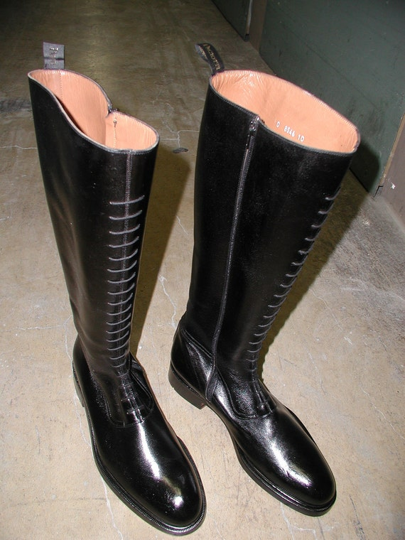 Cesare Paciotti vintage English Riding Boots ....