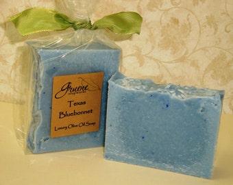 Texas Bluebonnet Luxury Handcrafted Soap