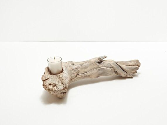 Driftwood Votive Centerpiece