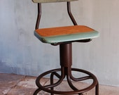 Vintage Switchboard Operator Stool