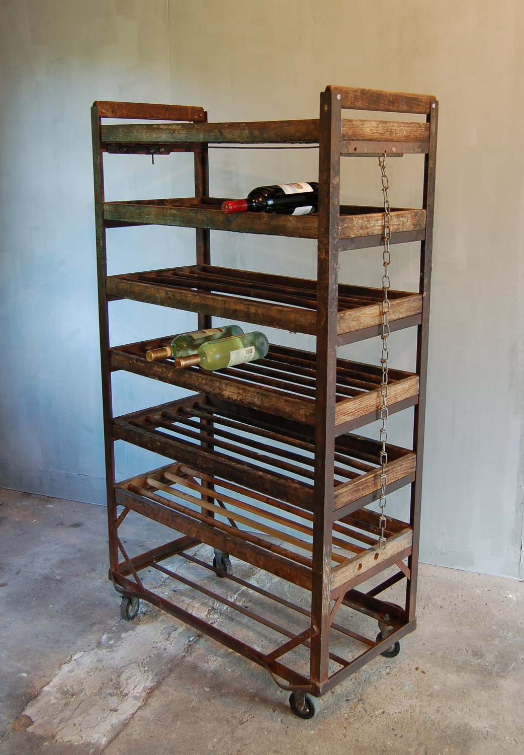 Vintage Factory Shoe Rack
