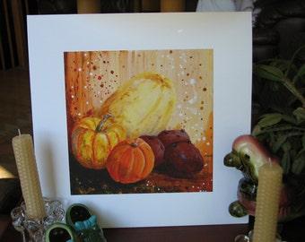 Winter Vegetables Print