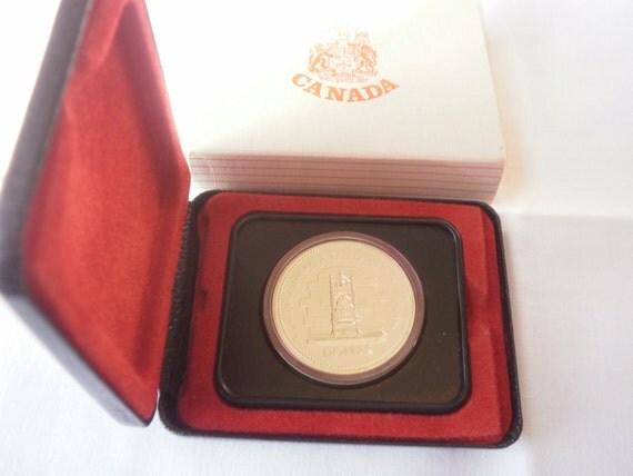 1977 Silver Jubilee Commemorative Canada Silver Dollar