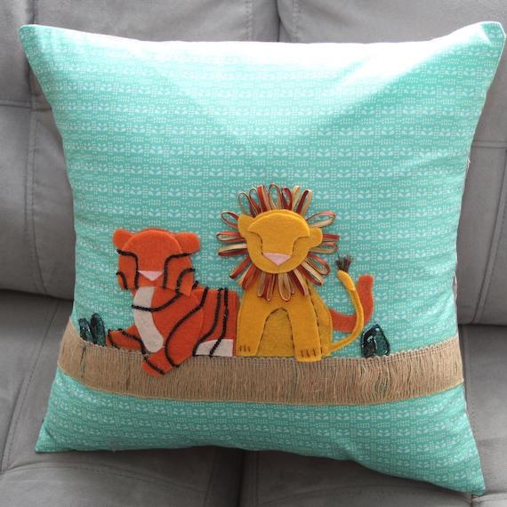 Custom Pillow Option (Lion Man Custom) 16X16 Pillow